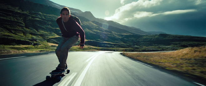 The Secret Life of Walter Mitty - Longboarding scene